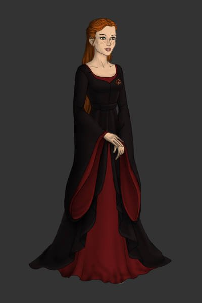 Ginny Weasley ~ Again she is a Hogwarts student. but mad