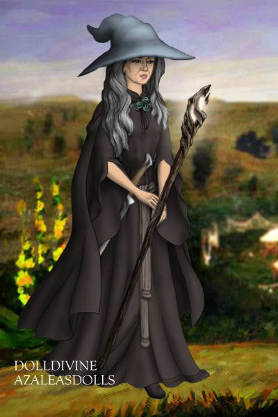 Fellowship Genderbent- Gandalf The Gray ~ Hm...what to name her. :D