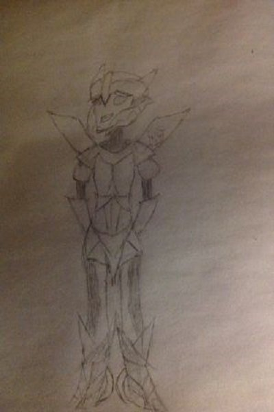 Frostbite- Transformers OC (OLD) ~ Rough draft of my OC from Transformers P