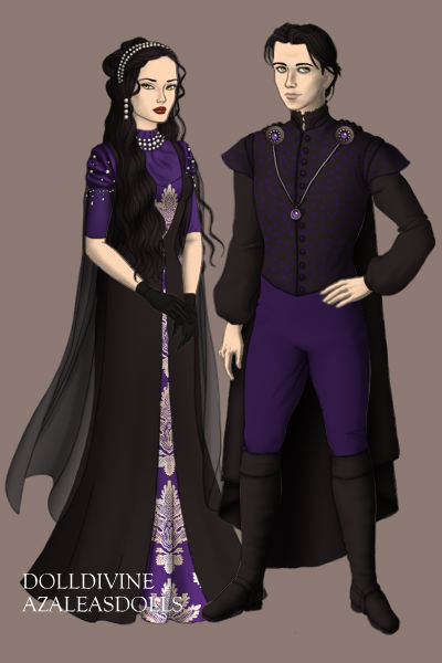 Eva and Edwin of Ivy Towers ~ Siblings.
