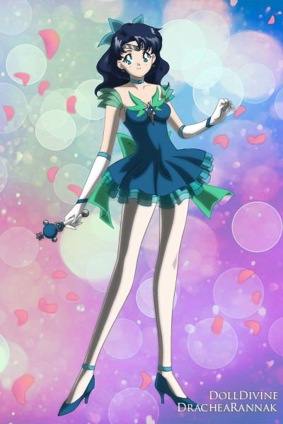 Shin Mercury = New Mercury ~ An alternative version of Sailor Mercury