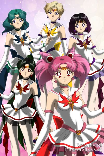 The New Sailor Soldiers (Squad 2) ~ An alternative version of  the Sailor So