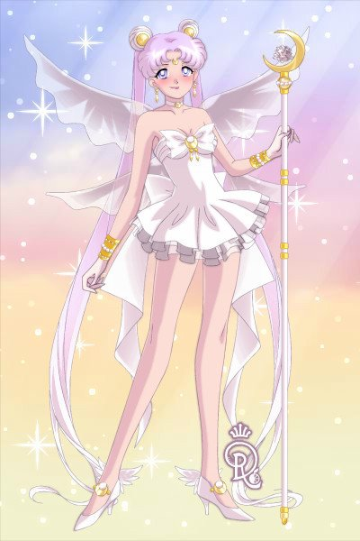 Sailor Queen Serenity - a Remake ~ Just a simple doll ^^