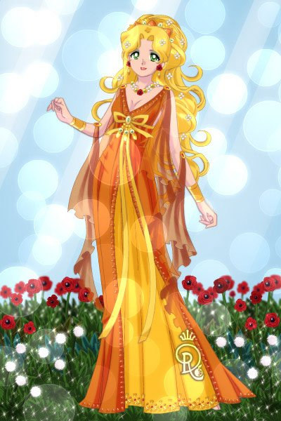 Demeter Megala Thea - The Great Goddess  ~ The all-nourishing Demeter is the Olympi