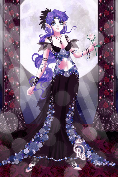 Her Royal Highness Queen Consort Freyon  ~ I said I'll put Freyon into a dress! But