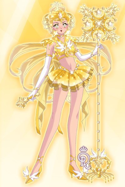 Sailor Supernova~ ~ Imma just sneak this in between staff-ma