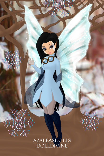 Winter Fairy ~ It's still Autumn but I was more in the