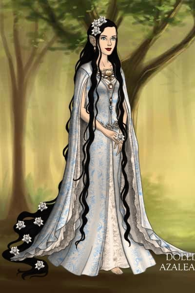 Lúthien Tinúviel ~ <p>This is how I think Tolkein envisione