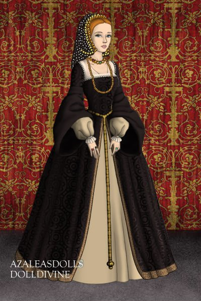Catherine Of Aragon In A French Hood By Ladyaquanine