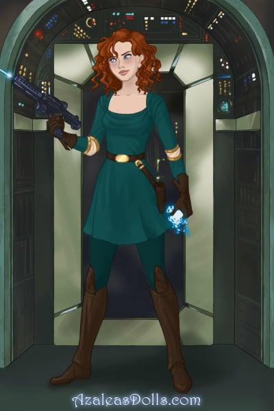 Merida Sci-Fy Warrior ~ In a galaxy far, far away, one group of