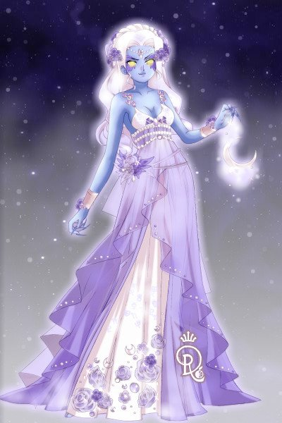 Adoptable:Night Elf: Moon Daughter ~ Ofc more Night elves adoptables are comi