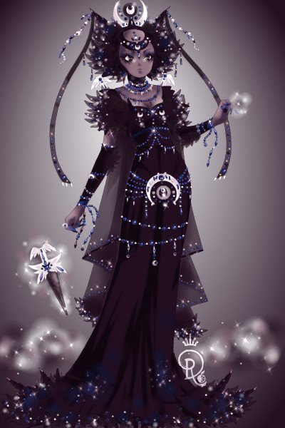 Queen Nycta of the Night Sky Throne ~ One of #TheTwelveSisters is Nycta, rules