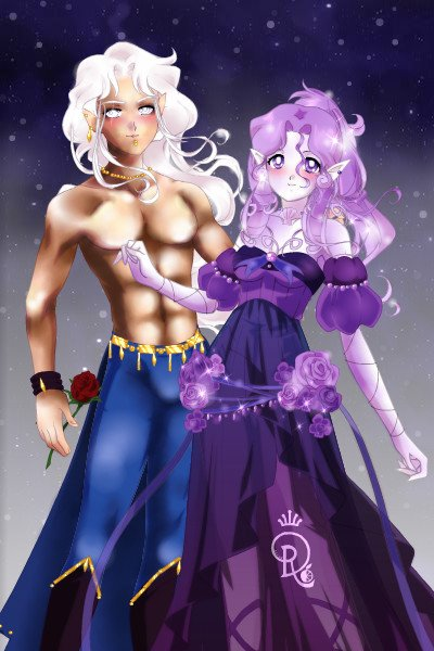 Felamen and Siriena~~Sylen\'s parents ~ Yay finally I found some time to make Sy
