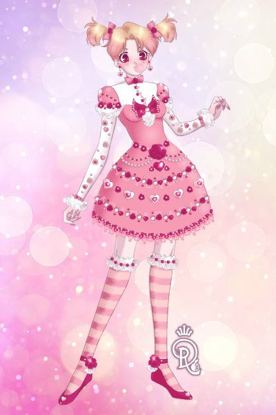 Sweet Pink Lolita ~ I used @PinkRobin's Lolita tutorial to m