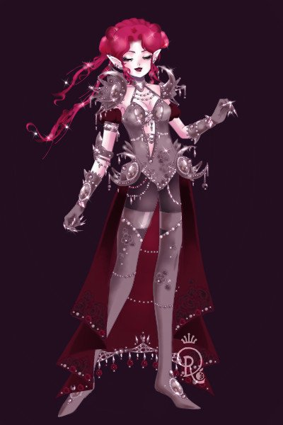 Queen Ithis Whisperdeath ~ <3 #Deathasian #Deathasia #Ithis #Armour