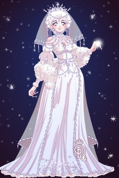 Snow Queen Gift For Cosmicrose By Forgotten