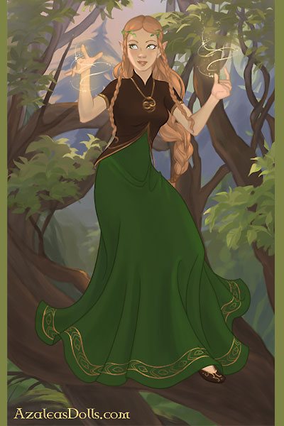 Growing Trees ~ Yavanna creating the forests of Middle-E
