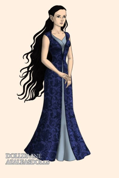 Lúthien Draft 3 ~ This last draft is based on a picture of