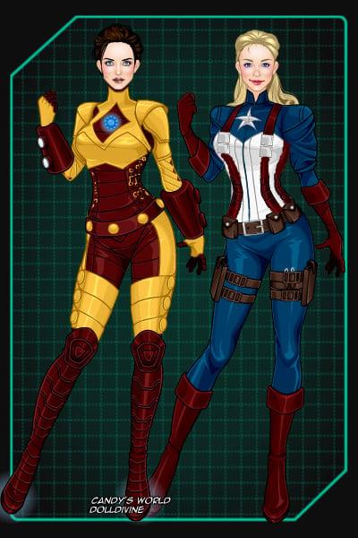 Iron Man Amp Captain America By Elspethdixon