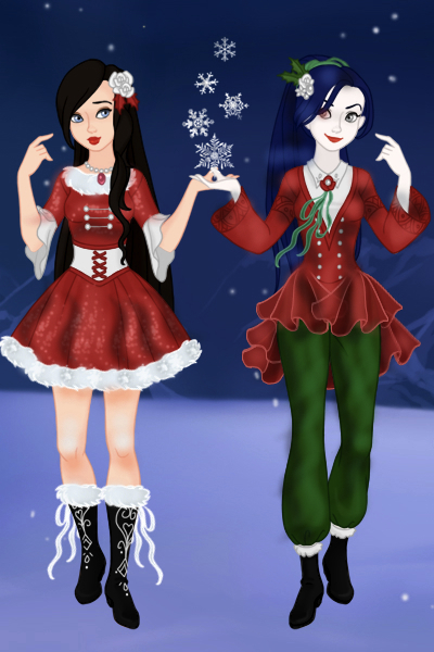 The Angel and the Demon ~ A lil Christmas giftie for LadyLeaf, my