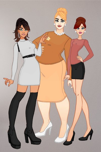 Archer Girls ~ Lana Kane, Pam Poovey and Cheryl/Carol T