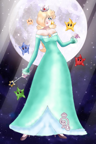 Rosalina ~ OF COURSE i cant make a Peach and not ma