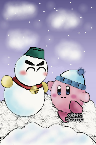 Chilly and Kirby! ~ for @AvalonTheQuin's contest :D I know C