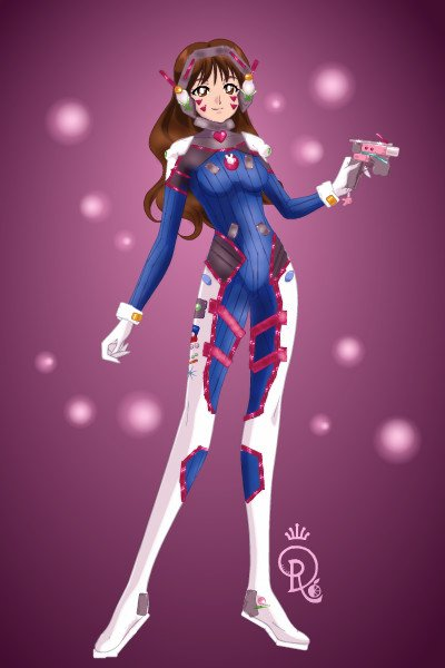 \Nerf this!\ ~ here have a sloppy D.va because I love h