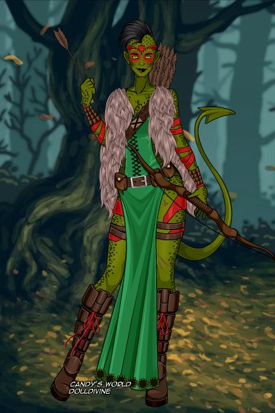 Marsh Princess ~ For arcanewitch's Create your own Disney