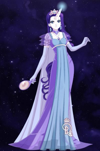 Sailor Rarity version 2 ~ Here's a second version of Rarity. While
