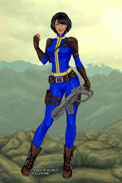 Irene Whittaker My Fallout 4 Sole Survivor By Operaphantom