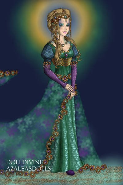 AliHaddok the Peacock Princess ~ You're always creating works of art for