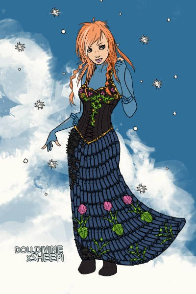 For the First Time in Forever ~ Anna from Frozen :)
