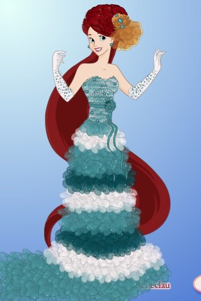 Ariel Designer Doll ~ And thus began a series of disney dolls.