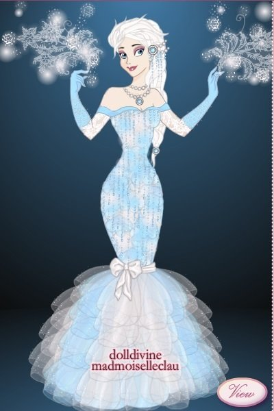 Elsa Designer Doll ~ So to go along with my designer doll col