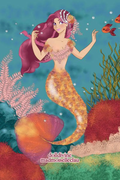 Coral Musings ~ Wanted to do another mermaid :)