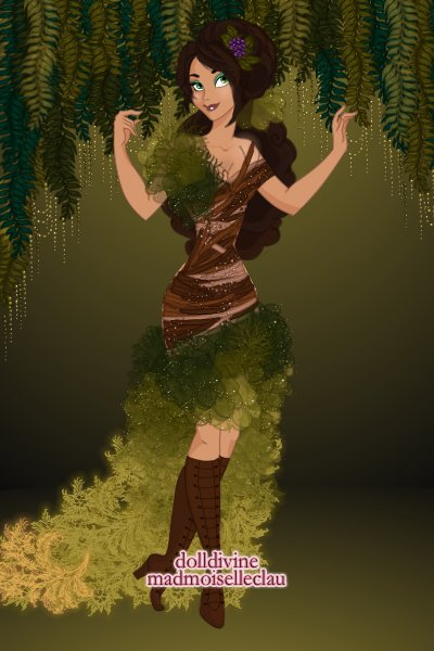 Forest Fashion ~ for blue's elemental couture contest, th
