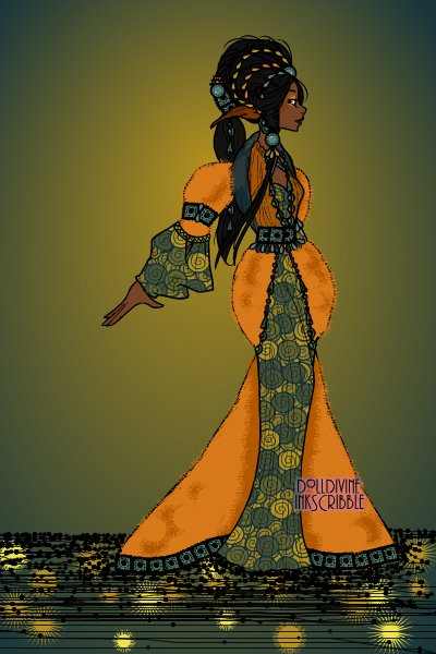 African Elven Empress ~ Something new :)