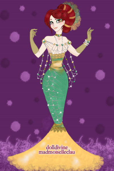 Sophie Felix Mermaid Couture ~ Sophie here for a cameo, a little mermai