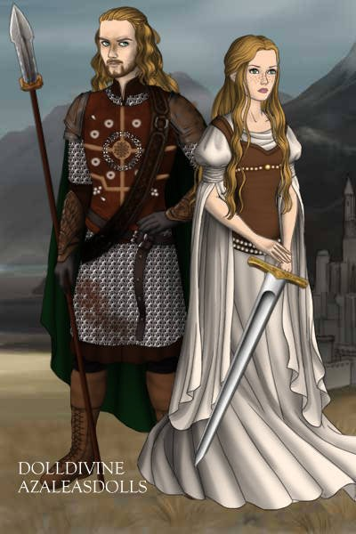 Eomer and Eowyn ~ people tend to forget about Eomer, and E