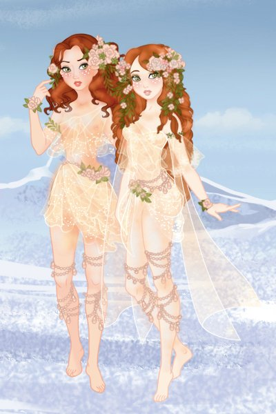 Ginger Nymph Sisters ~ They be judging ya'll and your non-flowe