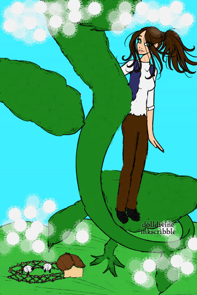 Jackie and the bean stalk ~
