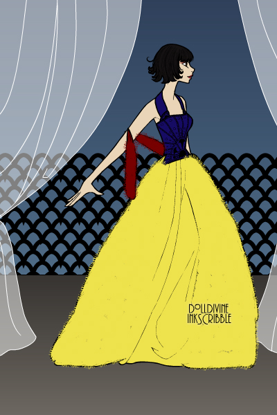 Snow White ~ Snow White in a ball gown! #Disney