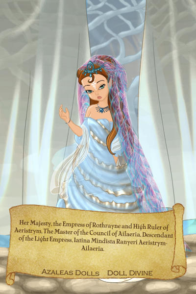 The Current Empress of Rothrayne. ~