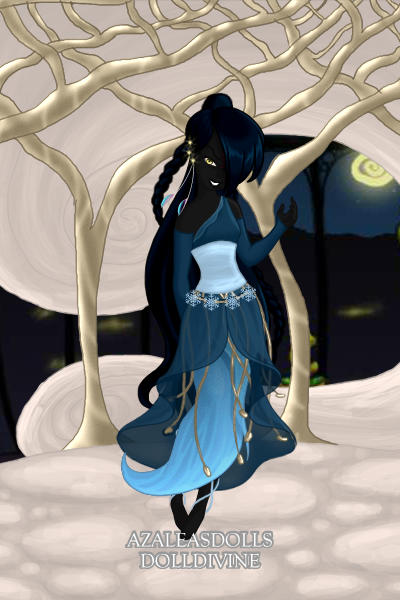 Arabelle in the Winter Court at Echlere  ~