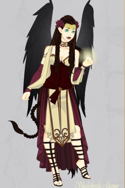 Angel Profile Pic ~ Me as a black winged angel <3  Again, do