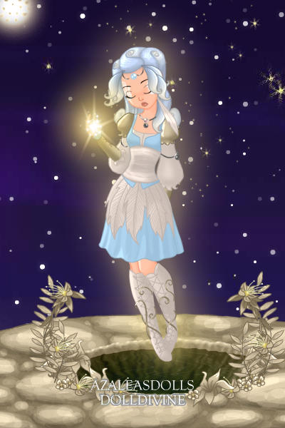 Moonlight on the Spring of Silver Tears  ~ I just needed to make something peaceful