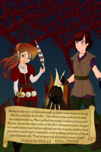 Dreamless ~ Alynn\'s Quest - page 4 ~ Fire fail >.<  And yes, the pot is prett