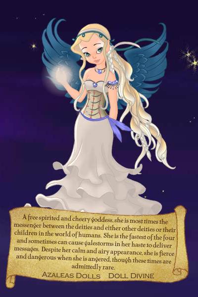 Dreamless Character Preview - The Goddes ~ Original design is copyright of ~KitKat~