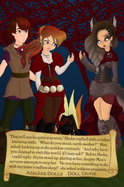 Dreamless ~ Alynn\'s Quest - page 11 ~ Right to the point with Alynn...Sorry fo